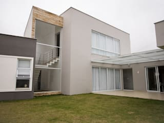 L2 Arquitetura Moderne Häuser Beton Grau