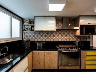 L2 Arquitetura Modern style kitchen Wood Wood effect