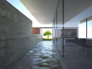 water garden: TNdesign一級建築士事務所が手掛けたプールです。