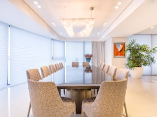 Luxury building in Panama Manooi Dining roomLighting Transparent