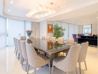 Luxury building in Panama Manooi Dining roomLighting Transparent