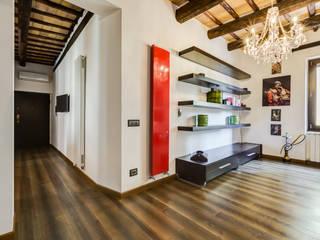 EF_Archidesign Pasillos, vestíbulos y escaleras modernos