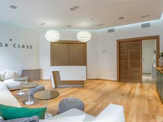 Студия йоги YOGA CLASS ARK BURO Коммерческие помещения Белый