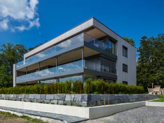 Wohnen am Wald:  Häuser von Hunkeler Partner Architekten AG