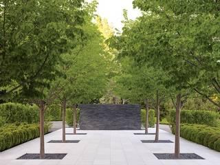 Grössere Fläche mit maximale Optimierung - Zwei Projekte, eine Art Moderner Garten von Ecologic City Garden - Paul Marie Creation Modern