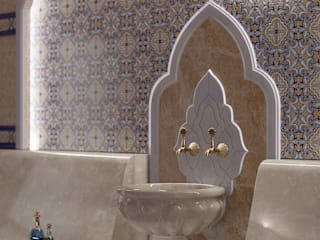 Проект хамама в восточном стиле: Спа в . Автор – А-эксклюзив