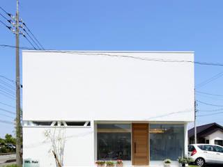 Moderne huizen van C-design吉内建築アトリエ Modern