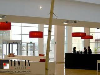 Grandes Proyectos: Pasillos y vestíbulos de estilo  de THALIA MOBLES S.L.
