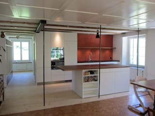 Kitchen by mmarch gmbh - Mader Marti Architektur ETH SIA