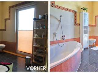 Baños de estilo clásico de VISUAL BUHO Homestaging & Redesign Clásico