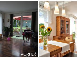 VISUAL BUHO Homestaging & Redesign Comedores de estilo rural