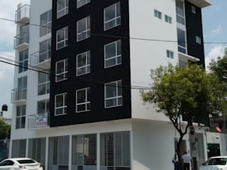 Gómez Farías: Casas de estilo  por DYE-ARQUITECTURA