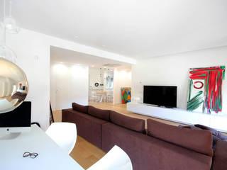 Salon minimaliste par Ad'A Minimaliste