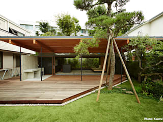 Eclectic style garden by すわ製作所 Eclectic