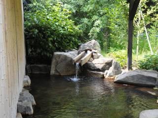 つかり湯: 株式会社 多々良造園が手掛けた庭です。