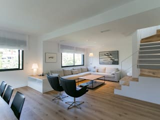 Living room by dom arquitectura, Minimalist