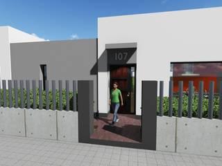 Entrada: Casas de estilo moderno de ARQUISURLAURO S.L.P.