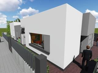 Ventana de la cocina: Casas de estilo moderno de ARQUISURLAURO S.L.P.