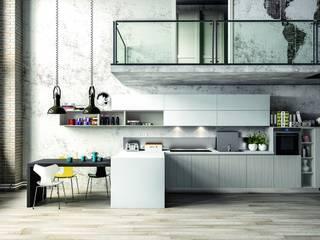 Modern Kitchen de Casa Più Arredamenti Rural