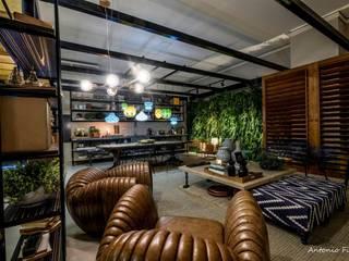 Salones de estilo moderno de Rafaela Dal'Maso Arquitetura Moderno
