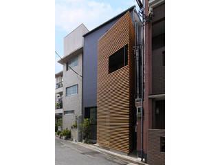 立体的につながる京町家 モダンな 家 の 株式会社Fit建築設計事務所 モダン