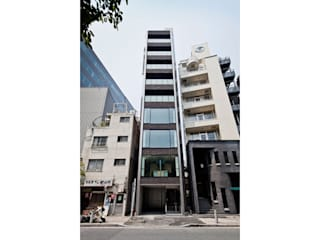 株式会社Fit建築設計事務所 Modern houses Ceramic Metallic/Silver