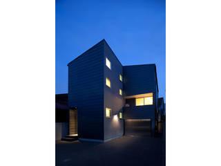 スキップフロアの家 モダンな 家 の 株式会社Fit建築設計事務所 モダン