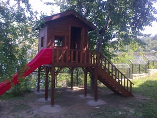 Gürsoy Kerestecilik Garden Swings & play sets Wood Wood effect