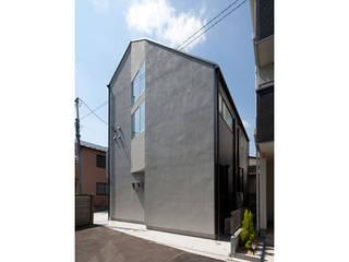 千早の賃貸併用住宅 モダンな 家 の 株式会社Fit建築設計事務所 モダン