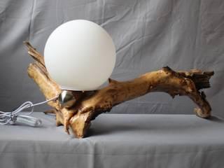 Lampe Eidechse von Königswurzeln Ausgefallen