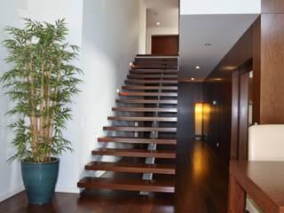 Viana House Corredores, halls e escadas modernos por Valdemar Coutinho Arquitectos Moderno