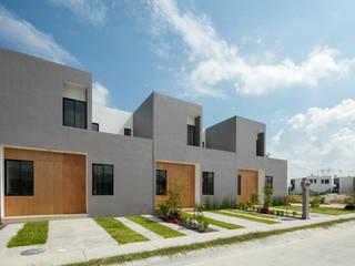 Viviendas San Ignacio Casas modernas de IX2 arquitectura Moderno