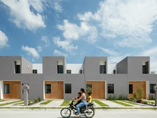 Viviendas San Ignacio: Casas de estilo  por IX2 arquitectura
