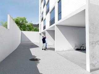 Multifamiliar Panorámica Huentitán:  de estilo  por IX2 arquitectura