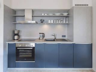 Homemate GmbH Cucina rurale Legno Blu