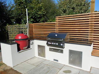 Outdoor Kitchen - BBQ Area bởi Design Outdoors Limited