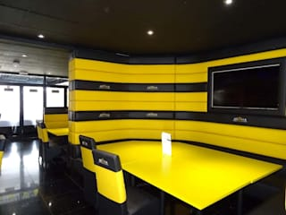 Restaurant Fit Out - Aroma Lounge, Southampton Modern commercial spaces by Atlas Contract Furniture Modern