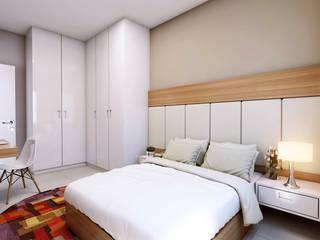 Lozí - Projeto e Obra Dormitorios de estilo minimalista