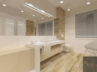 Baños de estilo minimalista de Architega Sp. z o.o. Minimalista
