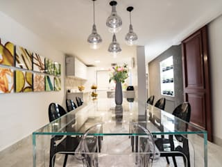 Dining room by HO arquitectura de interiores