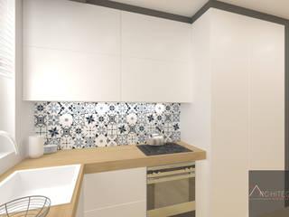 Cocinas de estilo escandinavo de Architega Sp. z o.o. Escandinavo