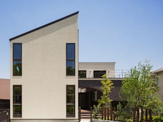 上大利の家 モダンな 家 の 株式会社 SYN空間計画 一級建築事務所 モダン