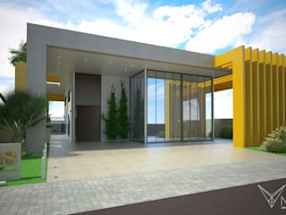 PO3 Casas modernas por Nankyn Arquitetura & Consultoria Moderno