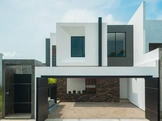 Casa Ax4 Casas minimalistas de ROKA Arquitectos Minimalista Aglomerado