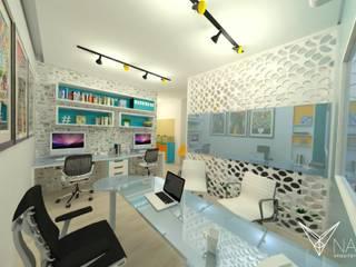 INI1 Espaços comerciais modernos por Nankyn Arquitetura & Consultoria Moderno