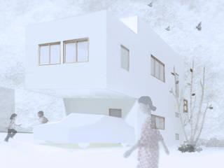 外観2: 上原一朗建築造形研究所が手掛けた家です。