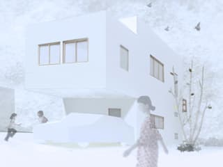 Modern houses by 上原一朗建築造形研究所 Modern
