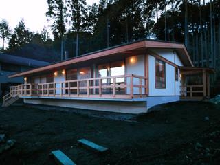 外観 ③ : 上原一朗建築造形研究所が手掛けた家です。