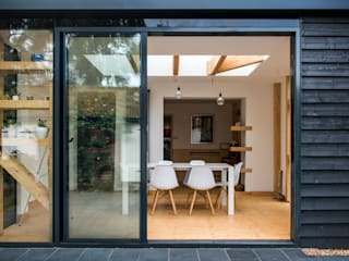sliding doors TAS Architects Case moderne
