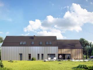 Projekty domów - House x09 - DomPP.pl Majchrzak Pracownia Projektowa Nowoczesne domy